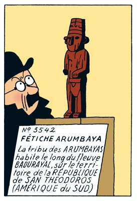 L'Oreille Cassée - Hergé (une aventure de Tintin)
