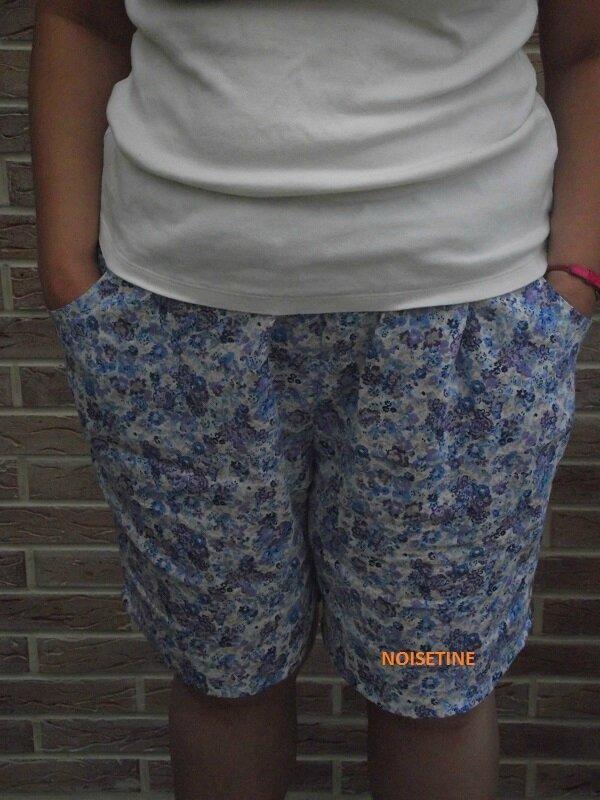 short à poches