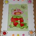 cadre charlotte aux fraises .....