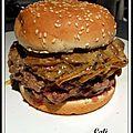 Burger comme un rossini - burger como un rossini