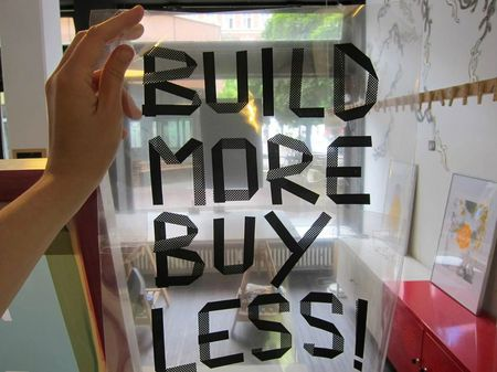build more buy less