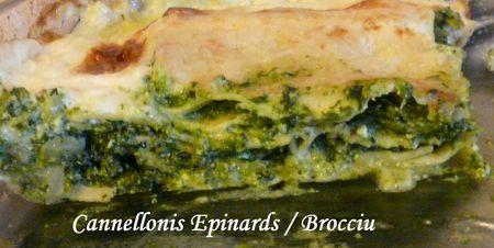 Cannellonis Epinards-Brocciu