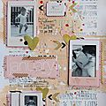 Scrapbooking a4 #164 journaling