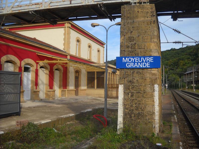 Moyeuvre-Grande (Moselle) côté voie