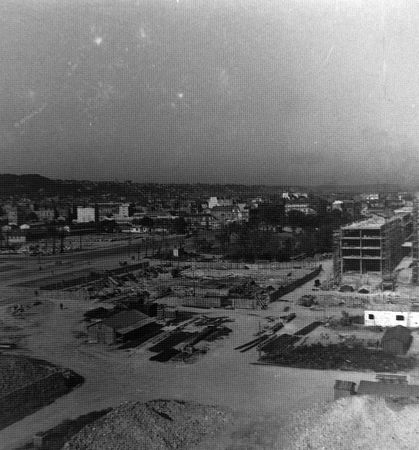 1949--place-de-l'Hdv-depuis V42 - fondations V6