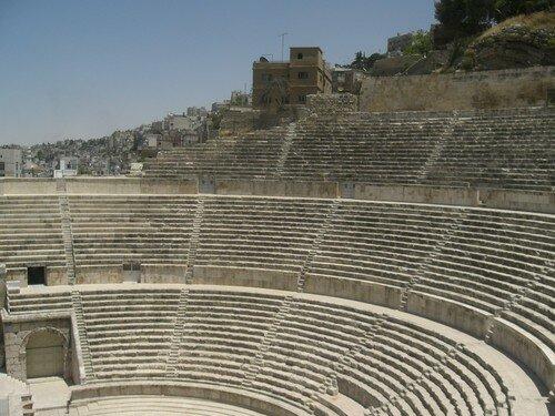 Amman, amphitheatre romain
