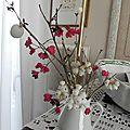 Mon arbre de noêl ... & avec des boules de neige