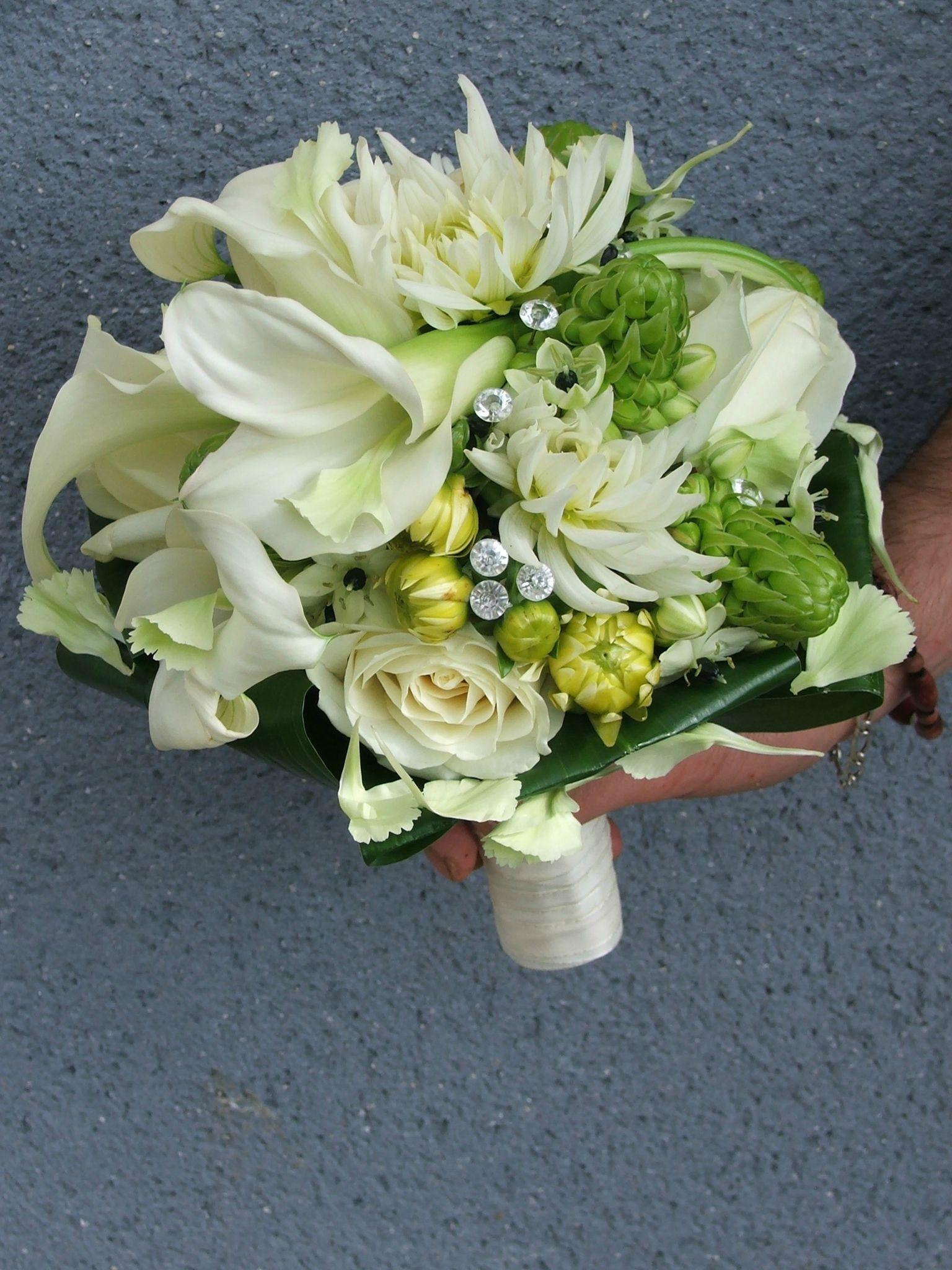 Le bouquet rond raffiné