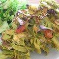 aubergine aux tagliatelles