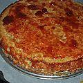 Tarte fraise pistache de michalak