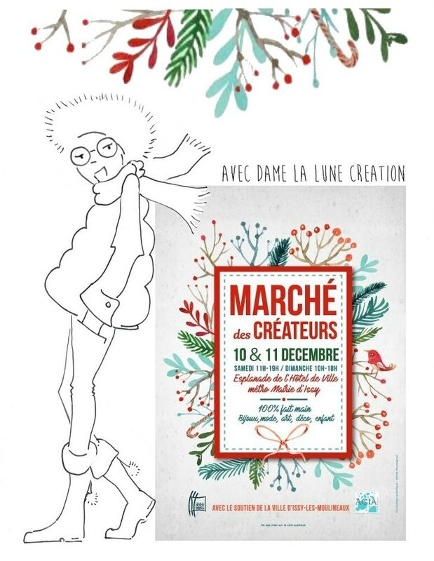 Dame la Llune_marché des créateurs-Issy-les-moulineaux_2016