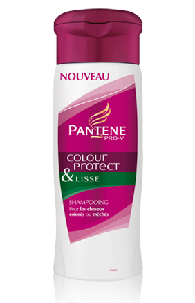 shampoing color protect lisse pantene pro v 4 - Shampoing Cheveux Colors