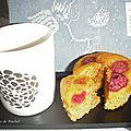 Muffins bio aux framboises
