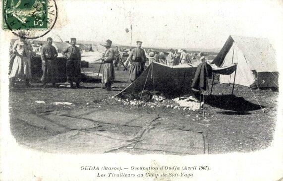 Oujda 1907 tirailleurs