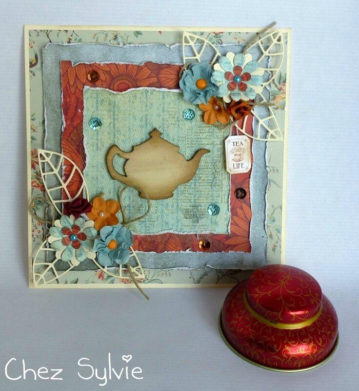 Carte 203 S&V thé