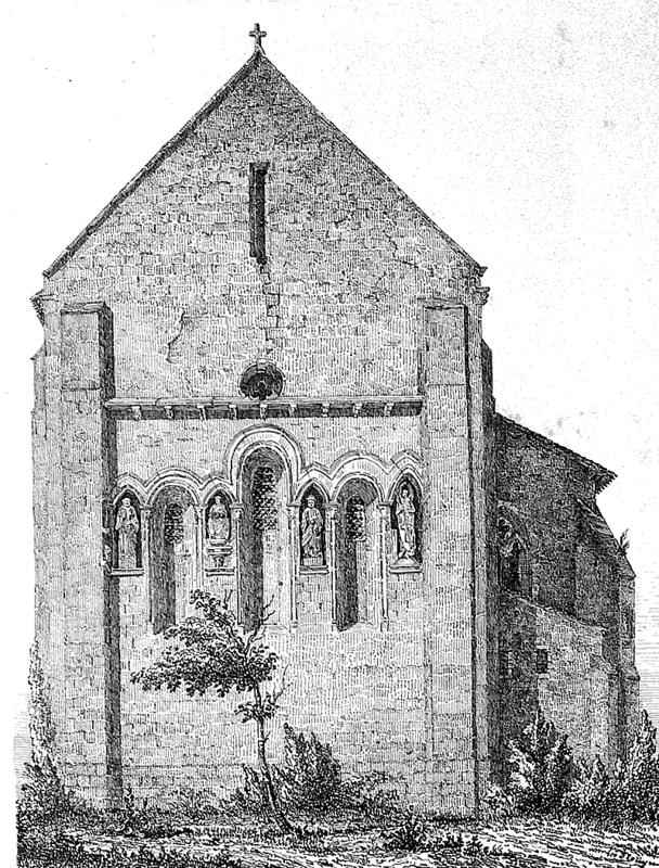 Eglise Saint Pierre de La Sauve Majeure