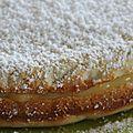Gâteau italien à la ricotta et au citron.