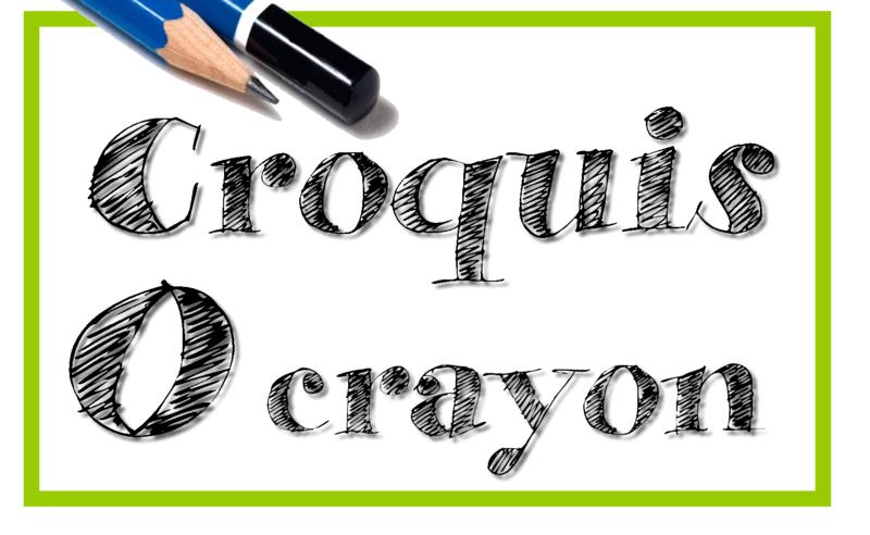 CroquisOcrayon