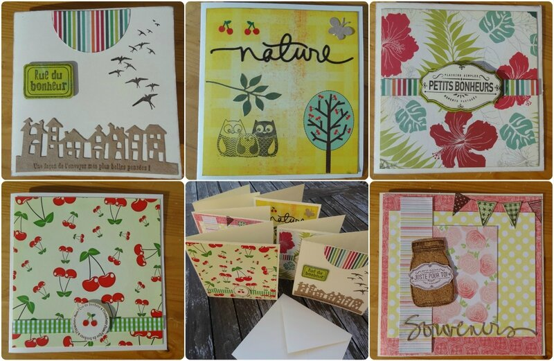 Collage cartes