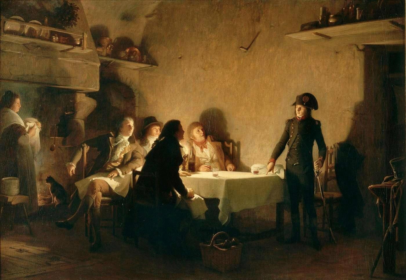Lecompte Du Nouy jean jules antoine-le souper de beaucaire