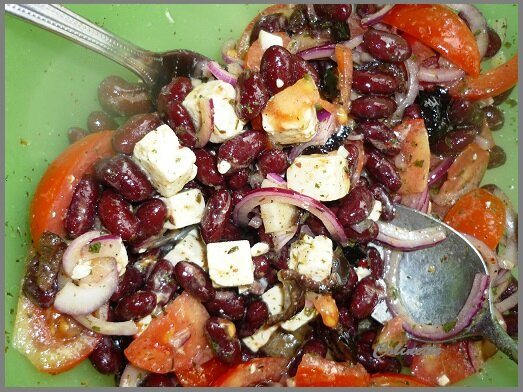 salade de haricots rouges 01