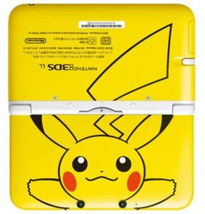 3ds xl pokemon pikachu