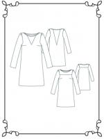 Patron robe Vanessa 2