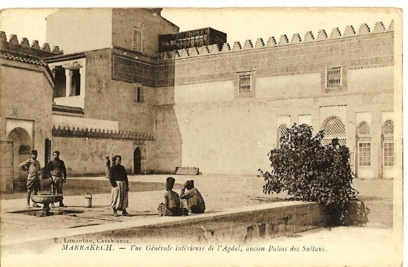 Spahis_hopital_marrakech_1912