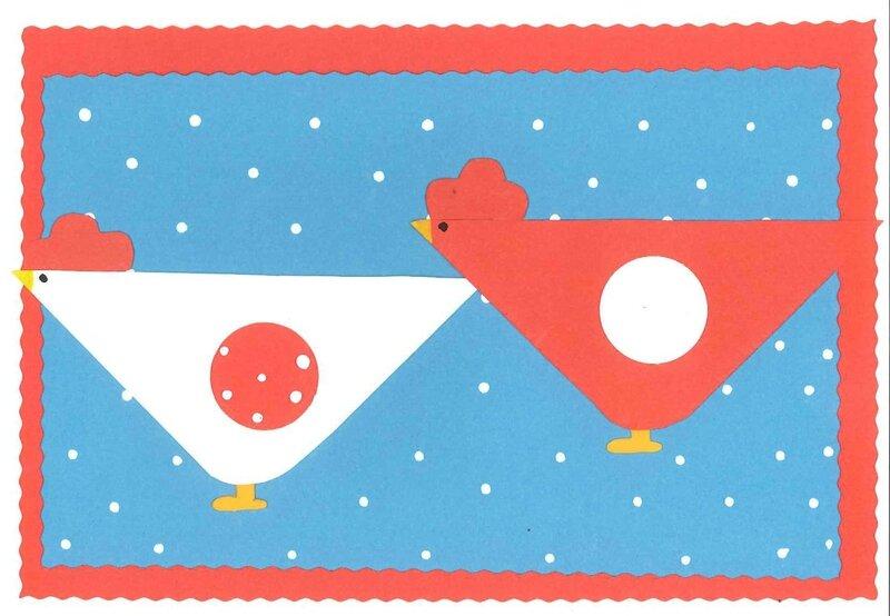 Petites poules - Mathys