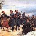 Bachelin, l'armée française à la frontière suisse