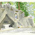 la Grotte vue par les artistes