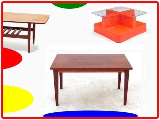 table basse vintage années 1960 - 1970 (3)