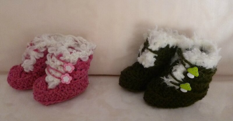 Chaussons bottes 12
