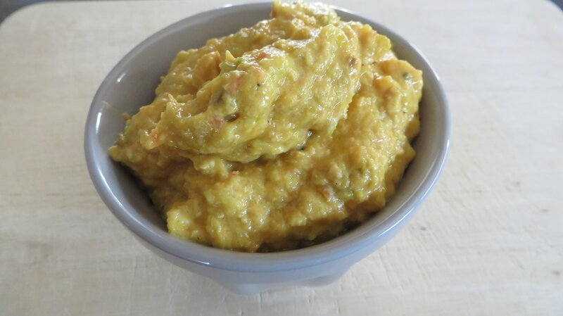 Tartinade de courgette (1)