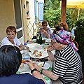 Les Tamalous à table à Gréoux