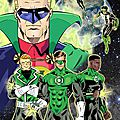 Green lantern - 75 years : la couleur