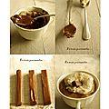 Un mi-cuit au chocolat au lait/carambar et glaçage au carambar......