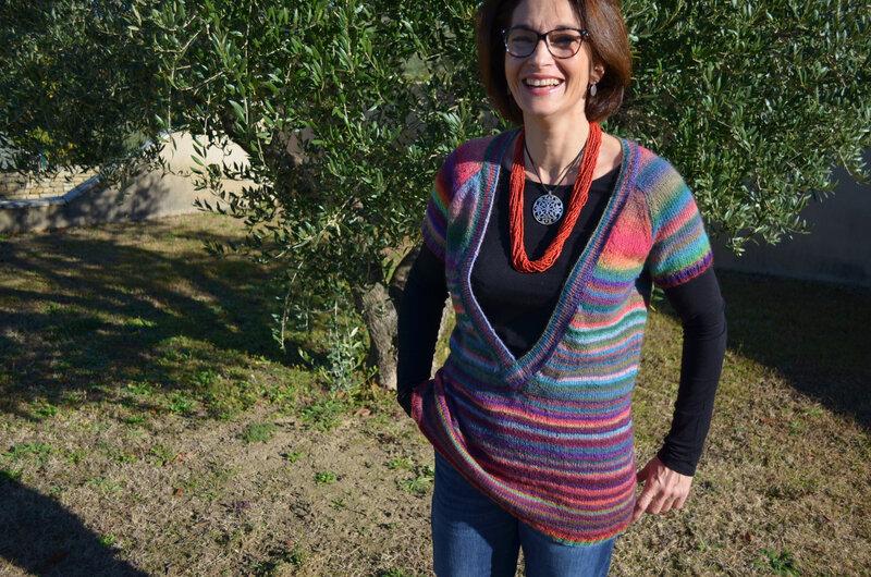Pull Bohème -tricot-La chouette bricole (4)
