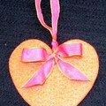 coeur feutrine pour guirlande