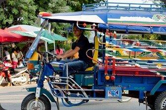 Laos Luang Prabang Tuktuk