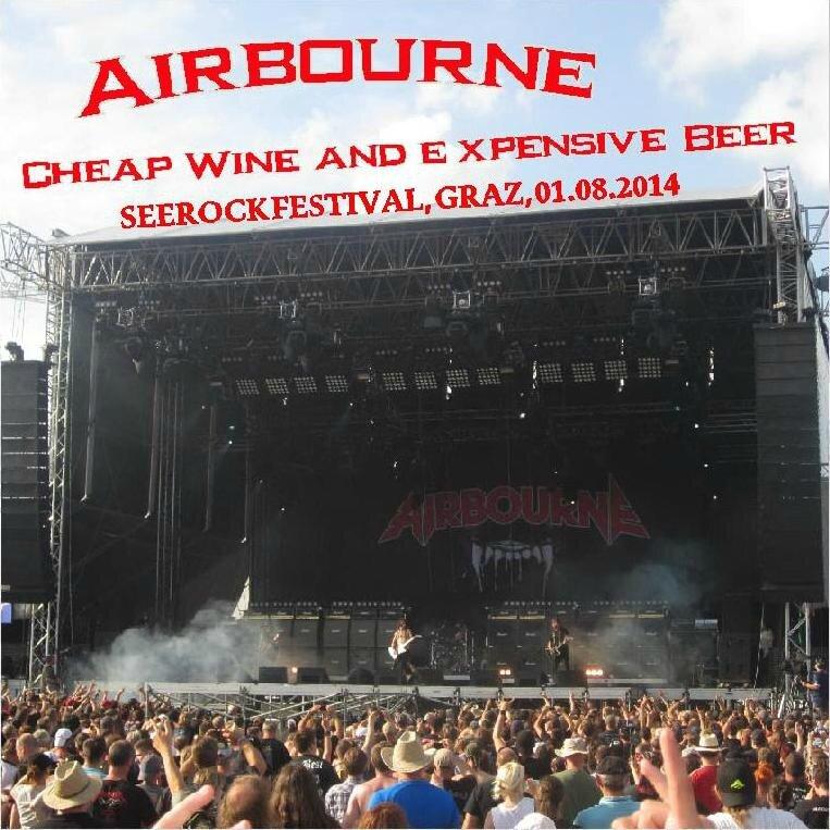 cd Airbourne, Graz, Seerock Festival, 01