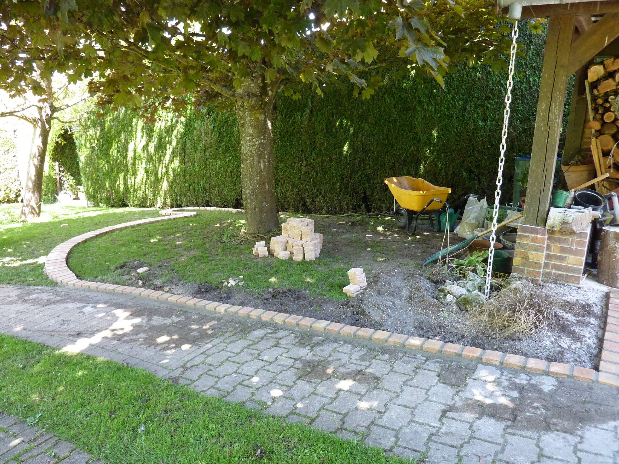 Sous l 39 ombre d 39 un arbre le jardin par passion for Jardin d aywiers 2016