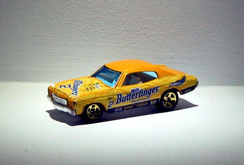 Chevrolet chevelle SS de 1970 (2002)(Hotwheels) 01