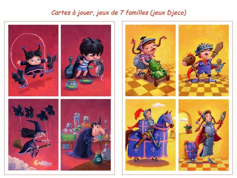 7 familles-sorcier-chevalier