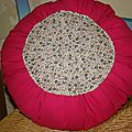 tuto coussin rond... sans machine  coudre!