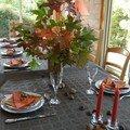 L'automne s'est invité à notre table !