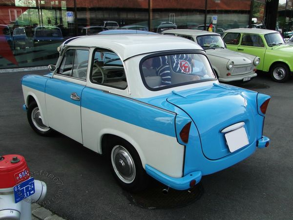 trabant p50 p60 (600) 1958 1964 4