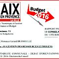 Budget 2016 : maryse joissains décide de pénaliser les aixois au quotidien !