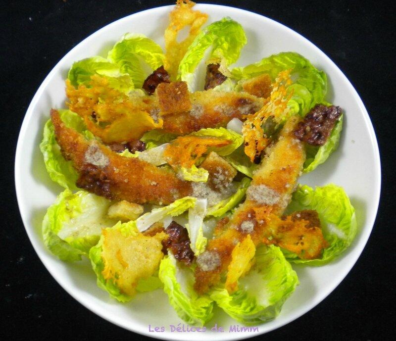 Salade César très croustillante 4