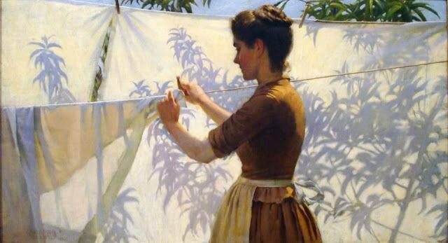 charles courtney curran laundry